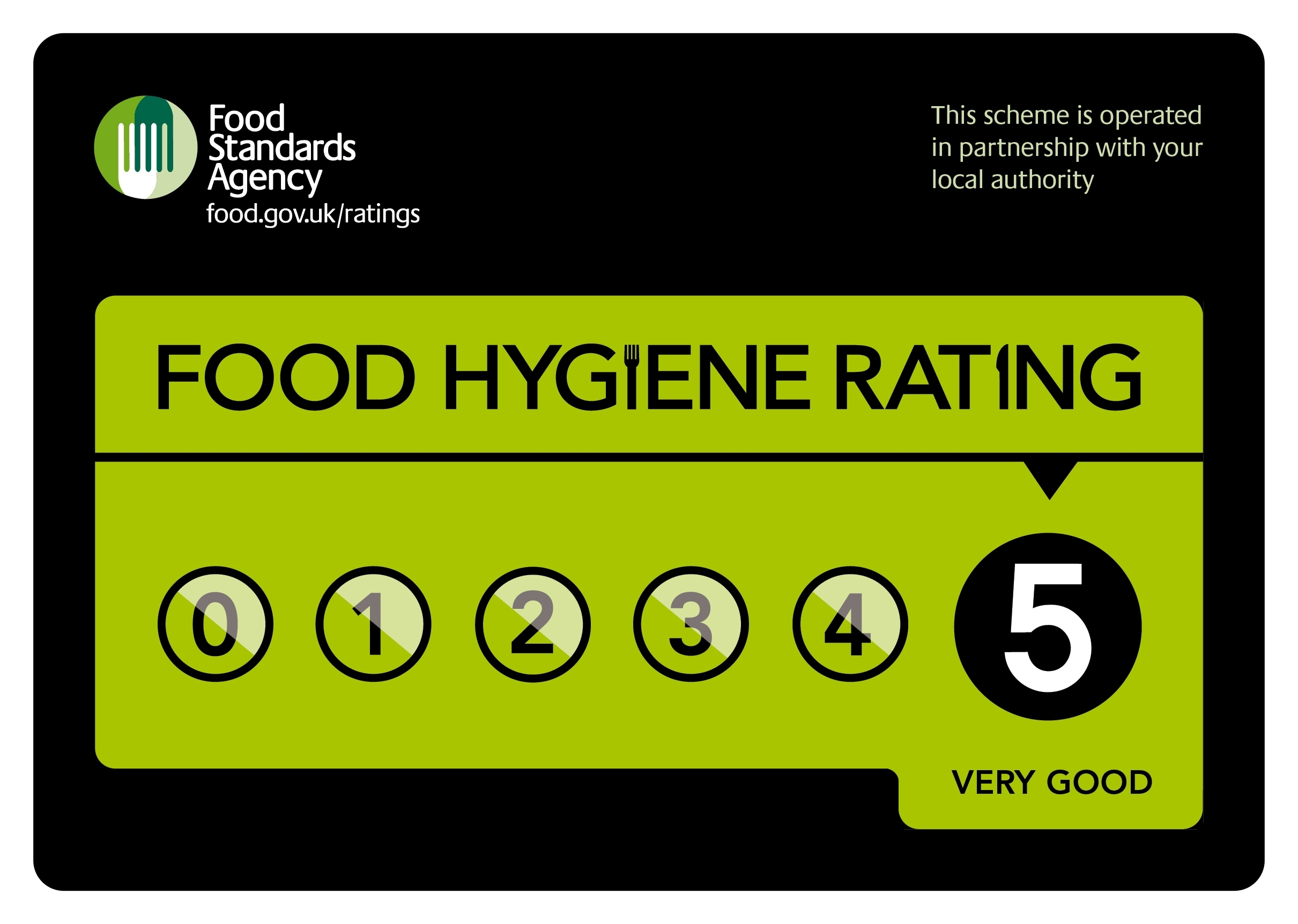 5 Stars for Catering Department