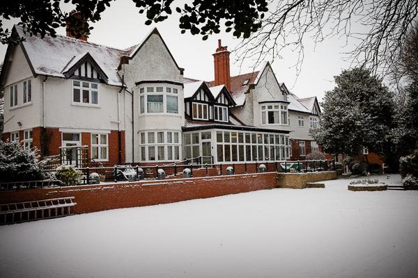 Warren Park in the Snow!